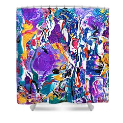 #833 Party Wild Shower Curtain
