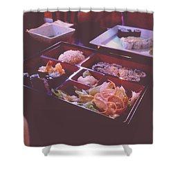 Sushi Shower Curtain by Kamiyah Franks
