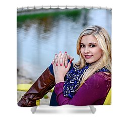 Shower Curtain featuring the photograph 8917 by Mary Timman