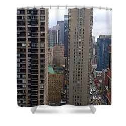 8th Ave Midtown Shower Curtain
