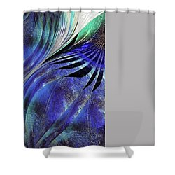 Shower Curtain featuring the photograph Exposed Gallery Garage  by Danica Radman