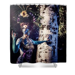 Shower Curtain featuring the photograph .. by Traven Milovich