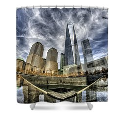 9/11 Memorial - Nyc Shower Curtain