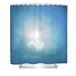 Shower Curtain featuring the photograph Abstract Sunlight by Atiketta Sangasaeng