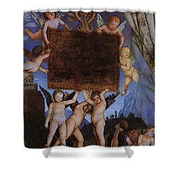 Andrea Mantegna Shower Curtain