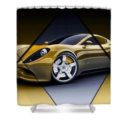 Ferrari Collection Shower Curtain by Marvin Blaine