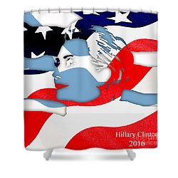 Hillary Clinton 2016 Collection Shower Curtain