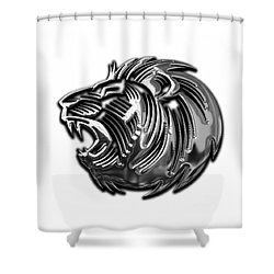 Lion Collection Shower Curtain