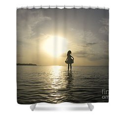 Loyda's Point Of View Shower Curtain