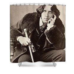 Oscar Wilde (1854-1900) Shower Curtain by Granger