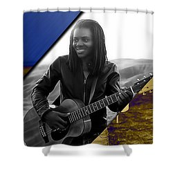 Tracy Chapman Collection Shower Curtain