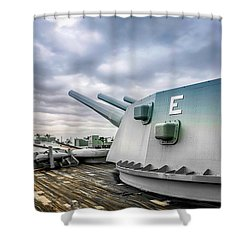 Uss Alabama Shower Curtain