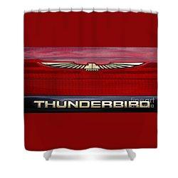 90s Thunderbird Shower Curtain