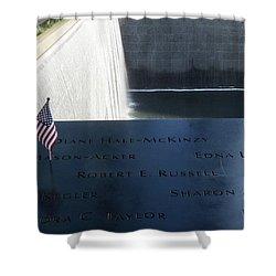 911 Memorial Pool-6 Shower Curtain