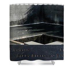911 Memorial Pool-8 Shower Curtain