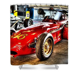 1961 Elder Indy Racing Special Shower Curtain by Josh Williams