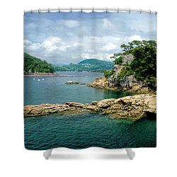 99 Islands Sasebo Japan Shower Curtain