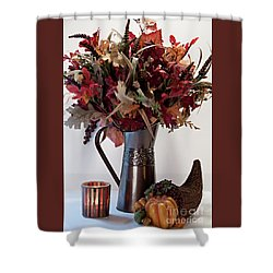 A Autumn Day Shower Curtain by Sherry Hallemeier