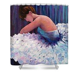A Ballerina In Repose Shower Curtain