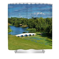 A Beautiful British Landscape Shower Curtain