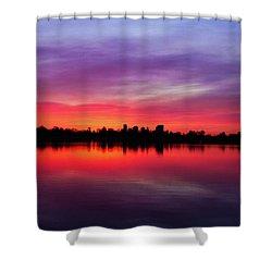 Sunrise At Sloan's Lake Shower Curtain