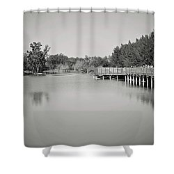 Shower Curtain featuring the photograph A Beautiful Day by Kim Hojnacki