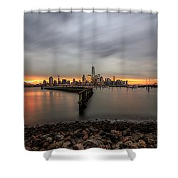 Shower Curtain featuring the photograph A Beautiful Morning  by Anthony Fields