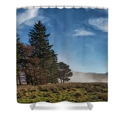 Shower Curtain featuring the photograph A Beautiful Scottish Morning by Jeremy Lavender Photography