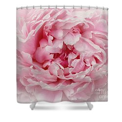 A Beauty At Close Range Shower Curtain