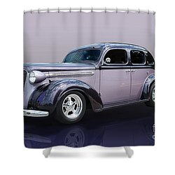 A Beauty Shower Curtain