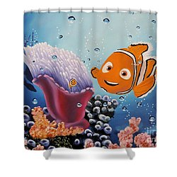 A Birthday Wish Shower Curtain
