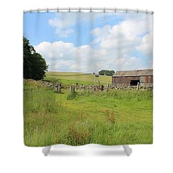 A Bit Ramshackle Shower Curtain