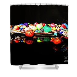 A Boatload Of Chihuli Shower Curtain