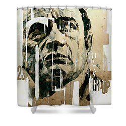 A Boy Named Sue Shower Curtain by Paul Lovering