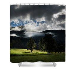 A Break In The Clouds Shower Curtain