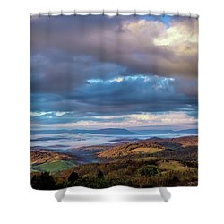 A Break In The Clouds Shower Curtain