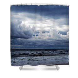 A Break In The Storm Shower Curtain