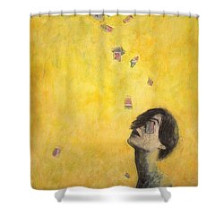 A Bridge Shower Curtain