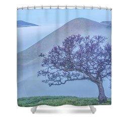 A Brief Break Shower Curtain