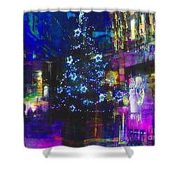 Shower Curtain featuring the photograph A Bright And Colourful Christmas by LemonArt Photography