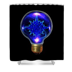 A Bright Idea Shower Curtain by Shane Bechler
