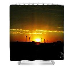 A Brighter Future Shower Curtain