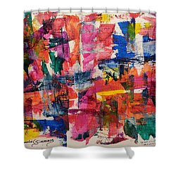 A Busy Life Shower Curtain