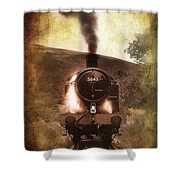 A Bygone Era Shower Curtain by Meirion Matthias