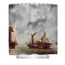 A Calm Shower Curtain by Jan van de Capelle