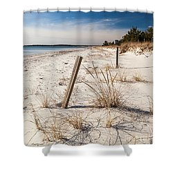 A Cape Cod Paradise Shower Curtain by Michelle Wiarda