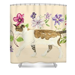 A Cat Called Dave Shower Curtain