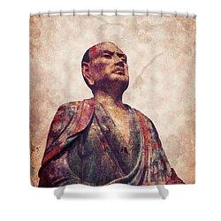 Buddha 5 Shower Curtain