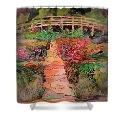 A Charming Path Shower Curtain