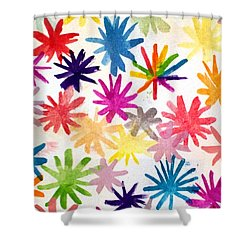 Shower Curtain featuring the photograph A Child's Creation #1 - Donation by Suri